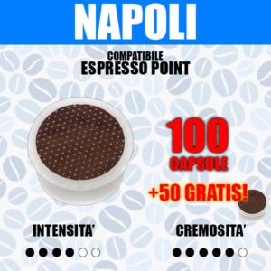 Capsule Compatibili Espresso Point Barbaro Cremoso 100 + 50 GRATIS!
