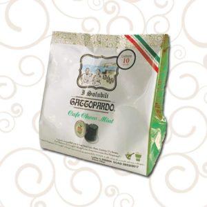 10 Capsule Nespresso Gattopardo Solubile ChocoMint