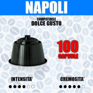 capsule compatibili dolce gusto cremoso 100
