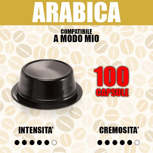 Capsule Compatibili A modo Mio Barbaro arabica