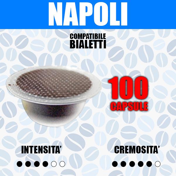 Capsule Compatibili bialetti Barbaro cremoso 100
