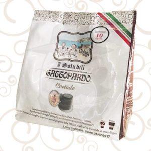 10 Capsule Nespresso Gattopardo Solubile Cortado