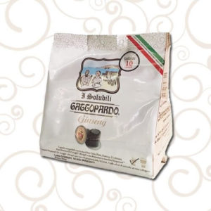 10 Capsule Nespresso Gattopardo Solubile Ginseng