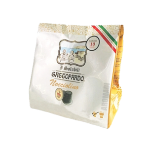 10 Capsule Nespresso Gattopardo Solubile Nocciolino