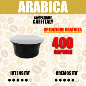 400 Capsule Caffitaly Barbaro Cremoso Arabica