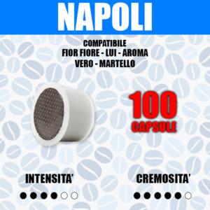 Capsule Compatibili Fior Fiore - Lui - Aroma Vero - Martello Barbaro Cremoso Napoli 100