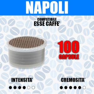 Capsule Compatibili Esse Caffè Barbaro Cremoso Napoli 100