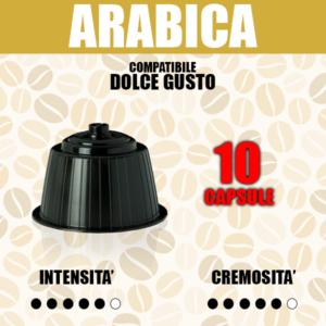 capsule compatibili dolce gusto barbaro arabica 10