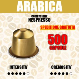 Capsule Compatibili Nespresso Barbaro Arabica 500