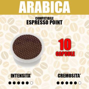 Capsule Compatibili Espresso Point Barbaro Arabica 100