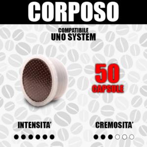 Capsule Compatibili Uno System Barbaro Corposo 50