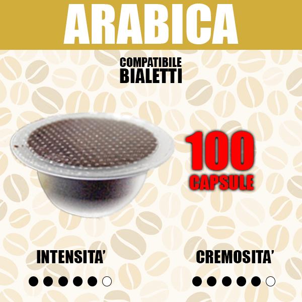 Capsule Compatibili Bialetti Barbaro Arabica 100
