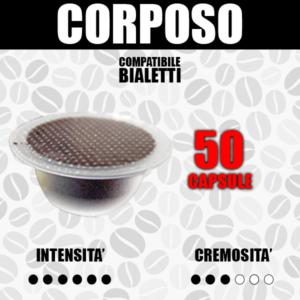 Capsule Compatibili Bialetti Barbaro Corposo 50