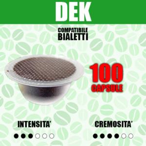 Capsule Compatibili Bialetti Barbaro Dek 100
