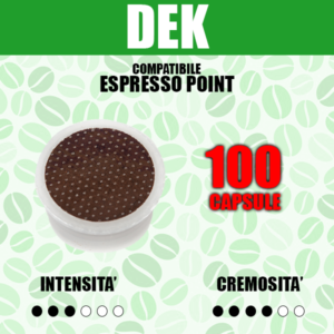 Capsule Compatibili Espresso Point Barbaro Dek 100