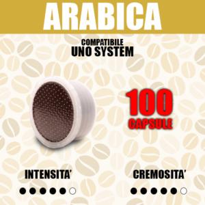 Capsule Compatibili Uno System Barbaro Arabica 100
