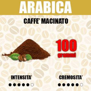 Caffè Macinato gusto Arabica da 100g
