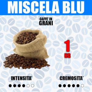 1 Kg Caffè in Grani Barbaro Miscela Blu
