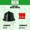 Capsule Compatibili Dolce Gusto Barbaro Dek 100