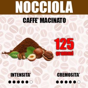 Caffè Macinato gusto Nocciola da 125g