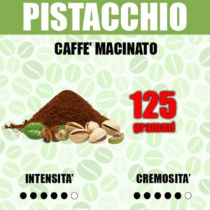 Caffè Macinato gusto Pistacchio da 125g