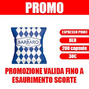 Espresso Point blu Promo